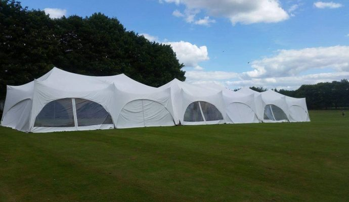 Many linked marquees
