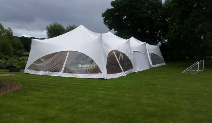 Linked Capri Marquees