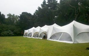 Linked up marquees