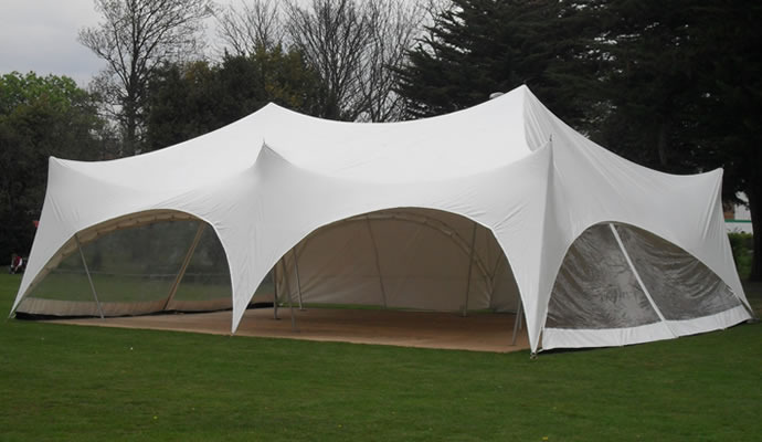 large capri marquee external