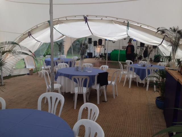Marquee With Dancefloor