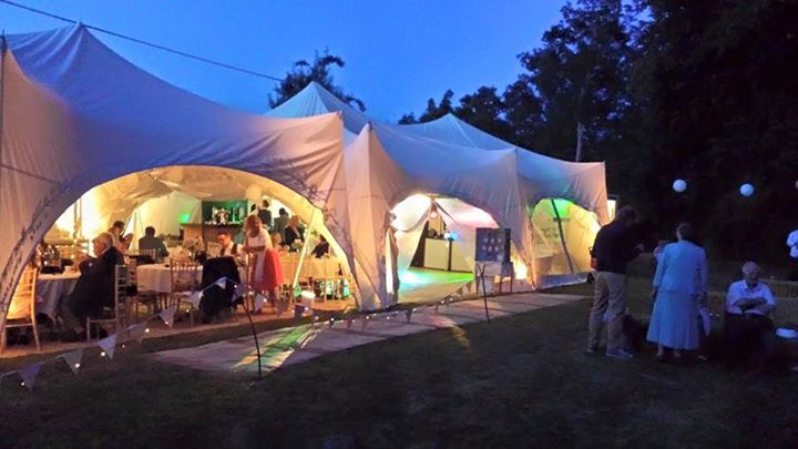 Lighting Capri Marquees Wokingham